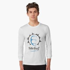 Kitesurfing, Hoodies, Sweatshirts, Cotton Tote Bags, Sun, Printed, Tees, Long Sleeve, Awesome
