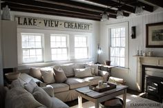 Farmhouse 5540 | Sweet Southern Blue ~ Family room
