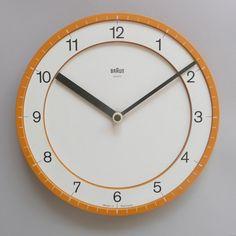 Relógio de Parede Braun ABK-30, 1982.