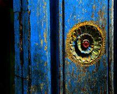 temple door details ... | Hindu temple at Pondicherry, India