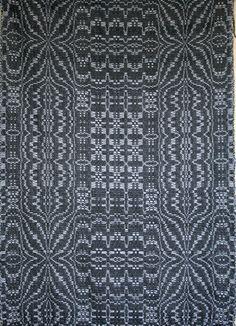 Emily Barish, 2013 Handwoven wool on Dobby loom