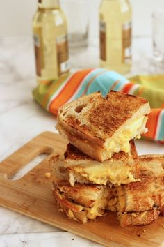 Grilled cheese is quick dinner and comfort food in one. Kick it up a notch with this grown-up version of your childhood favorite