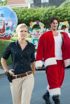 #HAVEN. Can I sit on this Santa'a lap??