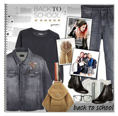 """""""Go Back-to-School Shopping!"""" by alves-nogueira ❤ liked on Polyvore featuring Mother, 7 For All Mankind, MANU Atelier, Prada, Design Lab, Kipling, BackToSchool, fashiontrend, polyvoreeditorial and DenimStyle"""