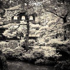 Ginkakuji.  Kyoto, Japan. September, 2014.  Photography by Stephane Barbery on Flickr