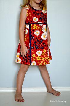 true, pure, lovely: mod dress