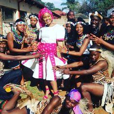 #Africanbride #africanwedding #africa #headwrap #zulu