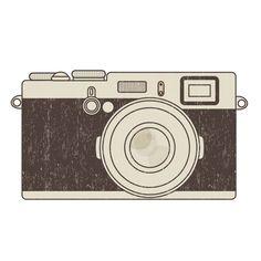 free vectors graphics - Retro photo camera
