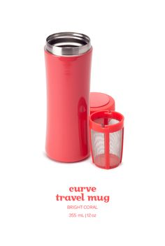 A new classic! A chic, durable travel mug that is leakproof and keeps your tea hot for hours. Coffee Cups, Tea Cups, Davids Tea, Mulled Wine, Cup Design, My Tea, Tea Recipes, Vintage Tea, Travel Mug