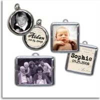 Hand Stamped Jewelry & Custom Photo Charms using favorite photos, a simple word, or an inspirational quote