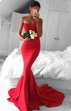 Red Long Prom Dresses, Prom Dresses Long Mermaid Prom Dresses, Prom Dresses Mermaid, Women's Prom Dresses, Elegant Long Prom Dresses - Women's style: Patterns of sustainability Mermaid Prom Dresses Lace, V Neck Prom Dresses, Cheap Prom Dresses, Prom Gowns, Formal Gowns, Sexy Dresses, Beautiful Dresses, Lace Mermaid, Party Dresses