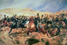 Avoiding the Charge of the Light Brigade Against China warontherocks.com Cannon to right of them, Cannon to left of them, Cannon in front of them, Volleyed and thundered; Stormed at with shot and shell, Boldly they rode and well