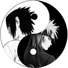 Sasuke and Naruto like Yin&Yang