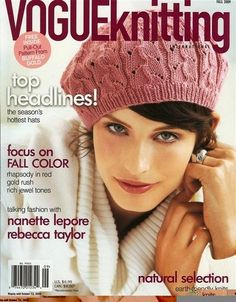 antm mckey | Antm winners Mckey Sullivan on the cover of VogueKnitting