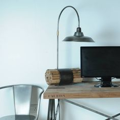 Boatwood Industrial Desk Table Lamp notonthehighstreet.com