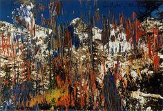 Untitled (10.3.89) Gerhard Richter 1989 10.1 cm x 14.9 cm Oil on photograph