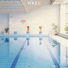"""In the Swimming Pool is a series from Slovakian Photographer Maria Svarbova. """"Sterile, geometric beauty of old pools set the. Diy Originales, Deco Retro, Photo Awards, Grafik Design, Color Photography, Narrative Photography, Urban Photography, White Photography, Foto E Video"""