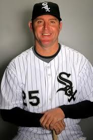 Jim Thome played for the Chicago White Sox for a few years (2006 - 2008) + some of the 2009 season.