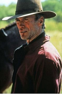 "Clint Eastwood as William Munny in ""Unforgiven"" directed by Clint Eastwood. The film won Academy Awards for Best Picture and Best Direction. Clint Eastwood Quotes, Clint And Scott Eastwood, Actor Clint Eastwood, Eastwood Movies, Western Film, Western Movies, Martin Scorsese, Hollywood Stars, Classic Hollywood"