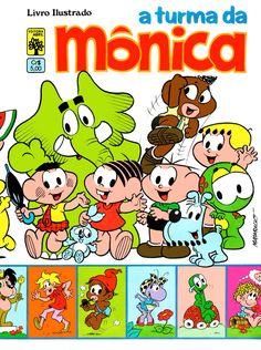 Álbum de figurinhas Turma da Mônica