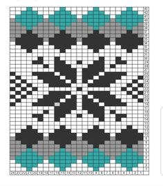 Swedish Weaving, Bead Crafts, Mittens, Knitting Patterns, Diagram, Chart, Stitch, Crochet, Cross Stitch Embroidery
