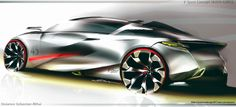CAR Design work on Behance Car Design Sketch, Car Sketch, Futuristic Cars, Transportation Design, Automotive Design, Concept Cars, Cool Art, Automobile, Sketches