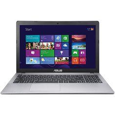 "Buy Asus X550CA Laptop, Intel Core i5, 6GB RAM, 1TB, 15.6"", Grey Online at johnlewis.com"
