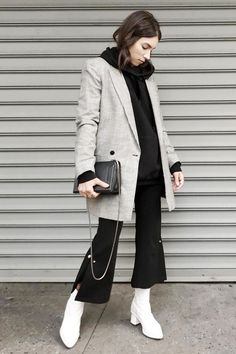 14 Outfits With Booties You Can Wear on Repeat via @WhoWhatWear