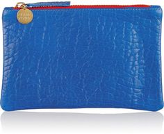 Clare V Textured-leather pouchWas: 124.00$ Now: 62.00$