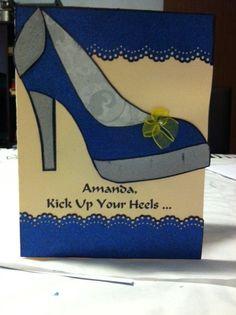 Fancy High Heel Birthday Card - March 2015