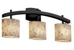 Sienna 3-Light Bath Bar, Bronze on OneKingsLane.com