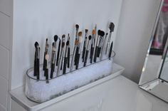 Makeup By Cheryl : IKEA Vanity Redecoration and Makeup Storage