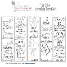 Bless It Forward Ministries - Free Printables Bible Art, Bible Verses, Scripture Study, Bible Journaling For Beginners, Art Journaling, Bible Bookmark, Bibel Journal, Journal Template, Journal Aesthetic
