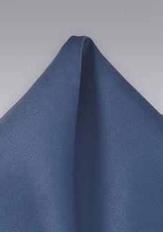 Markantes Ziertuch unifarben ultramarinblau