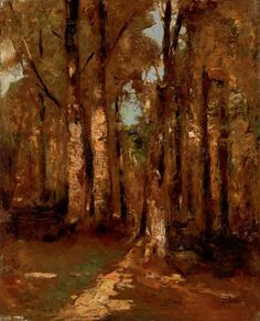 a man with a past Impressionist Paintings, Landscape Paintings, Landscapes, Natural Scenery, Expositions, Art Moderne, Artist Painting, Past, Forests