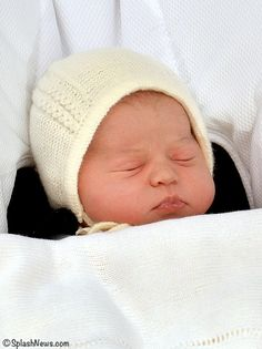 Princess Charlotte Leaving Hospital