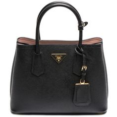 The Stunning Colors of the Prada Double Bag in Saffiano Cuir for Fall... ❤ liked on Polyvore featuring bags, handbags, heart shaped bag, heart purse, prada handbags, prada bags and turquoise bag