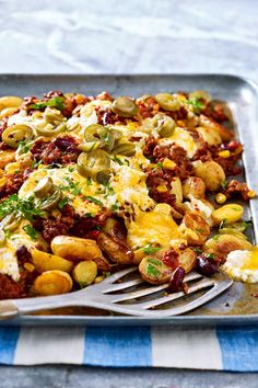 Easy-peasy Tex-Mex-Kartoffeln The oven does the most work in this gourmet meal of a baking tray. The result is guaranteed to be a feast, after [. Grilling Recipes, Gourmet Recipes, Crockpot Recipes, Cooking Recipes, Healthy Recipes, Potato Recipes, Pasta Recipes, Tex Mex, Easy Brunch Recipes
