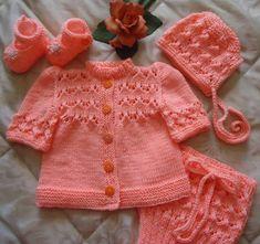 Schönes Baby Set in Pink/weiß von RenisDesignermodelle auf Etsy