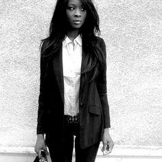 style vestimentaire feminin rock | Styles by Assitan