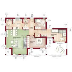 Maximale Modularität und Individualität. Der Concept-M Bungalow bietet unendliche Vielfalt und Flexibilität für die Realisierung individueller Wohnwünsche. Die große Anzahl unterschiedlicher Architektur-Accessoires und Grundrisskonzepte ermöglicht die Kreation vollkommen individueller Hausentwürfe. Vom klassischen Walmdach-Bungalow über den repräsentativen mediterranen Bungalow bis zum modernen 1 oder 2-geschossigen Designer-Bungalow mit Flachdach ist alles möglich. Individueller geht nicht…