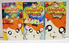 Lot of 3 Hamtaro VHS Tapes Little Hamsters Big Adventures Suitable For All Ages ..... Visit all of our online locations ..... (www.stores.eBay.com/variety-on-a-budget) ..... (www.amazon.com/shops/Variety-on-a-Budget) ..... (www.etsy.com/shop/VarietyonaBudget) ..... (www.bonanza.com/booths/VarietyonaBudget ) .....(www.facebook.com/VarietyonaBudgetOnlineShopping)