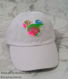 4df14bbf05707 Embroidered Hat Lilly Pulitzer Monogrammed by LillianandLloydLLC  Embroidered Hats