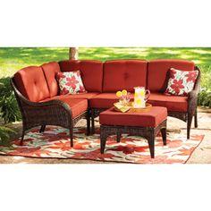 Better Homes And Gardens Lake Island 5 Piece Sectional Sofa Set Walmart.com
