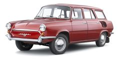 http://chicerman.com  carsthatnevermadeit:  Škoda 1000 MB Kombi type 990 prototype 1963. A long-roof version of the popular 1000 MB which never made it into production because both luggage capacity and engine access were limited by the rear-engine layout  #cars