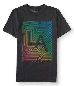LA Rainbow Graphic T - Aéropostale®