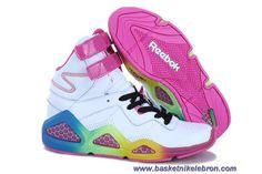 size 40 31e30 e3d4c Blanc Rose Reebok CL Chi-Kaze Femmes Chaussures En Ligne Kevin Durant, Nike  Lebron
