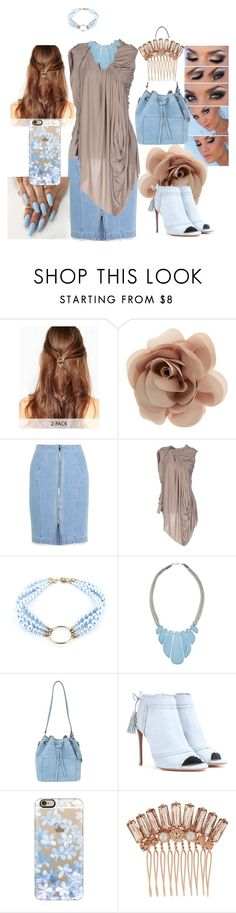 """""""Ready for Anything"""" by cyndobah on Polyvore featuring ASOS, Accessorize, Steve J & Yoni P, Rick Owens Lilies, Justine Clenquet, John Lewis, Michael Kors, Aquazzura, Casetify and Henri Bendel"""
