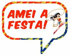 festa de mulher maravilha - Pesquisa Google Have Board, Board For Kids, Paper Crafts, Invitations, Cards, Super Heros, Wonder Woman, Printables, Ideas Party