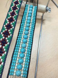 Seed Bead Jewelry, Bead Jewellery, Diy Jewelry, Beaded Jewelry, Jewelry Making, Seed Beads, Loom Bracelet Patterns, Bead Loom Bracelets, Bead Loom Patterns